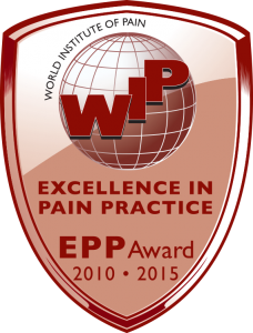Excellence in Pain Practice Award