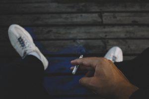 Smoking causes back pain